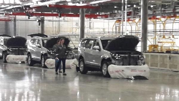 Производство DW Hower H3 в России